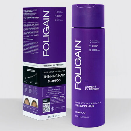 Foligain shampoo mujer